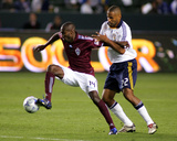 Apr 4, 2009, Colorado Rapids vs Los Angeles Galaxy - Omar Cummings Photographic Print by German Alegria