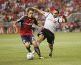 Jun 27, 2009, Toronto FC vs Real Salt Lake - Ned Grabavoy Photographic Print by Melissa Majchrzak