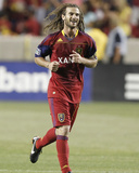 Jul 23, 2011, San Jose Earthquakes vs Real Salt Lake - Kyle Beckerman Photographic Print by George Frey