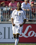 Jun 6, 2009, Los Angeles Galaxy vs Toronto FC - Edson Buddle Photographic Print by Paul Giamou