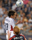 Aug 23, 2009, Real Salt Lake vs New England Revolution - Ned Grabavoy Photographic Print by Keith Nordstrom