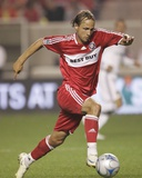 Sep 25, 2008, Los Angeles Galaxy vs Chicago Fire - Justin Mapp Photo by Brian Kersey