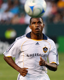 Jun 21, 2008, Columbus Crew vs Los Angeles Galaxy - Edson Buddle Photographic Print by Robert Mora