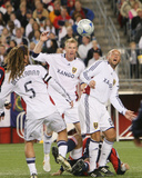 Oct 4, 2008, Real Salt Lake vs New England Revolution - Nat Borchers Photographic Print by Martin Morales