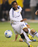 Jul 4, 2009, New England Revolution vs Los Angeles Galaxy - Edson Buddle Photographic Print by Robert Mora