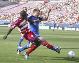 Jul 4, 2008, Kansas City Wizards vs FC Dallas - Michael Harrington Photo by Rick Yeatts