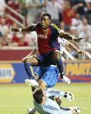 Jul 3, 2009, San Jose Earthquakes vs Real Salt Lake - Robbie Findley Photographic Print by Melissa Majchrzak