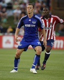May 23, 2009, Chivas USA vs Kansas City Wizards - Jack Jewsbury Photographic Print by Scott Pribyl
