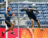 Nov 20, 2009, Los Angeles Galaxy Practice for MLS Cup - Landon Donovan Photographic Print by Robert Mora