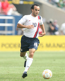 2007 CONCACAF Gold Cup Final: Jun 24, USA vs Mexico - Landon Donovan Photographic Print by Tony Quinn