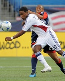 Aug 23, 2009, Real Salt Lake vs New England Revolution - Robbie Findley Photo by Keith Nordstrom