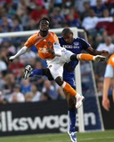 Jul 4, 2009, Houston Dynamo vs Kansas City Wizards - Rauwshan McKenzie Photographic Print by Gary Rohman