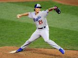 85th MLB All Star Game: Jul 15, 2014 - Zack Greinke Photographic Print by Hannah Foslien