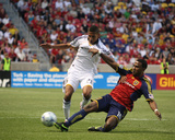 May 6, 2009, Los Angeles Galaxy vs Real Salt Lake - Robbie Findley Photographic Print by Melissa Majchrzak