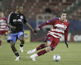 Oct 2, 2008, San Jose Earthquakes vs FC Dallas - Kenny Cooper Photographic Print by Rick Yeatts