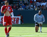 2003 MLS Cup: Nov 23, San Jose Earthquakes vs Chicago Fire - Carlos Bocanegra Photo af Steve Grayson