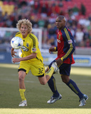 Oct 31, 2009, Columbus Crew vs Real Salt Lake - Steven Lenhart Photographic Print by Melissa Majchrzak