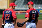 85th MLB All Star Game: Jul 15, 2014 - Derek Jeter Fotografisk tryk af Rob  Carr