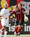 May 21, 2005, New England Revolution vs MetroStars - Michael Bradley Photo by Rich Schultz