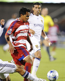 Sep 26, 2009, Real Salt Lake vs FC Dallas - Javier Morales Photographic Print by Rick Yeatts
