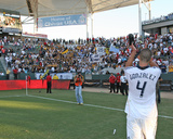 2009 Conference Semifinals Game One: Nov 1, Los Angeles Galaxy vs Chivas USA - Omar Gonzalez Photo by German Alegria
