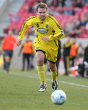 Oct 31, 2009, Columbus Crew vs Real Salt Lake - Chad Marshall Photographic Print by Melissa Majchrzak