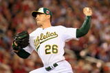 85th MLB All Star Game: Jul 15, 2014 - Scott Kazmir Photographic Print by Rob Carr