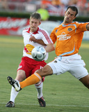May 31, 2008, New York Red Bulls vs Houston Dynamo - Patrick Ianni Photographic Print by Thomas B. Shea