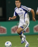 Sep 9, 2009, Kansas City Wizards vs D.C. United - Davy Arnaud Photographic Print by Tony Quinn