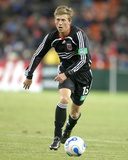 2006 Eastern Conference Championship: Nov 5, New England Revolution vs DC United - Brian Carroll Photographic Print by Tony Quinn