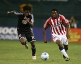 Oct 3, 2009, Chivas USA vs D.C. United - Michael Lahoud Photographic Print by Tony Quinn