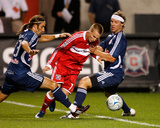 Sep 6, 2008, New York Red Bulls vs Chicago Fire - Chris Rolfe Photographic Print by Brian Kersey