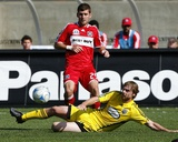 Oct 12, 2008, Columbus Crew vs Chicago Fire - Gonzalo Segares Photographic Print by Brian Kersey