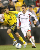 Sep 2, 2006, New England Revolution vs Columbus Crew - Andy Dorman Photographic Print by Tony Quinn