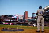 85th MLB All Star Game: Jul 15, 2014 - Yasiel Puig Photographic Print by  Elsa