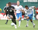 Sep 27, 2009, San Jose Earthquakes vs D.C. United - Jason Hernandez Photographic Print by Tony Quinn