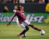 May 27, 2008, Colorado Rapids vs Los Angeles Galaxy - Omar Cummings Photographic Print by German Alegria