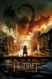 The Hobbit Battle of the Five Armies - Smaug Plakát