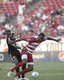 Sep 5, 2009, D.C. United vs FC Dallas - Atiba Harris Photographic Print by Rick Yeatts