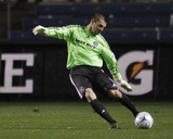 Oct 22, 2009, Chivas USA vs Chicago Fire - Jon Busch Photographic Print by Brian Kersey