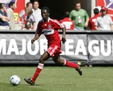 May 31, 2009, FC Dallas vs Chicago Fire - Patrick Nyarko Photo by Brian Kersey