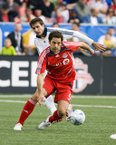 May 31, 2008, Los Angeles Galaxy vs Toronto FC - Alan Gordon Photographic Print by Paul Giamou