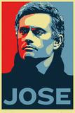 Chelsea - Jose Mourinho Kunstdruck
