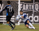 Oct 7, 2009, FC Dallas vs San Jose Earthquakes - Chris Wondolowski Photographic Print by John Todd