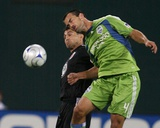 Sep 12, 2009, Seattle Sounders FC vs D.C. United - Patrick Ianni Photographic Print by Tony Quinn