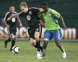 Sep 2, 2009, US Open Cup - Seattle Sounders FC vs D.C. United - Steve Zakuani Photo by Tony Quinn