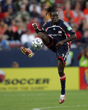 2006 MLS Cup: Nov 12, Houston Dynamo vs New England Revolution - Shalrie Joseph Photographic Print by Rich Schultz