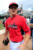 85th MLB All Star Game: Jul 15, 2014 - Mike Trout Photographic Print by Rob Carr