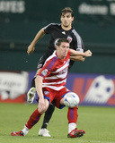 May 3, 2009, FC Dallas vs D.C. United - Kenny Cooper Photographic Print by Tony Quinn