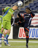 Sep 26, 2009, Seattle Sounders FC vs New England Revolution - Osvaldo Alonso Photographic Print by Keith Nordstrom